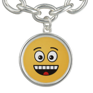 Smiling Face with Open Mouth Charm Bracelets