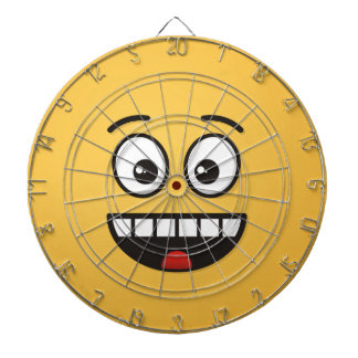 Smiling Face with Open Mouth Dartboard