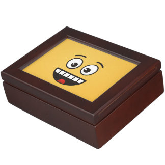 Smiling Face with Open Mouth Keepsake Box