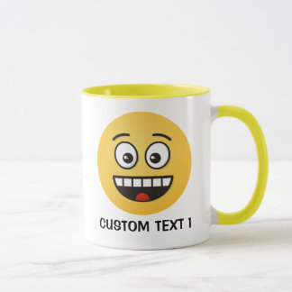 Smiling Face with Open Mouth Mug