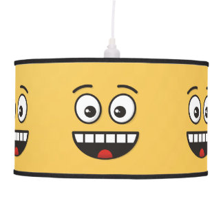 Smiling Face with Open Mouth Pendant Lamp