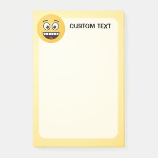 Smiling Face with Open Mouth Post-it Notes