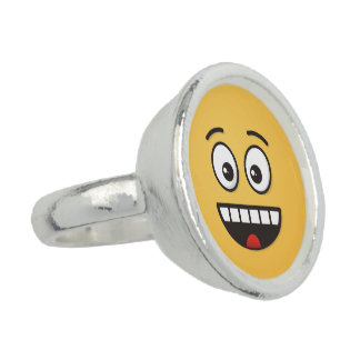 Smiling Face with Open Mouth Rings