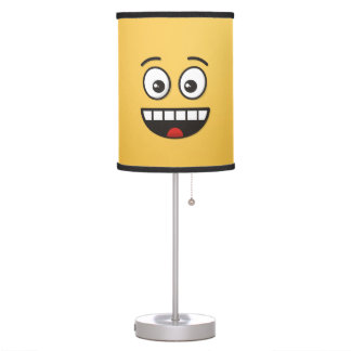 Smiling Face with Open Mouth Table Lamp