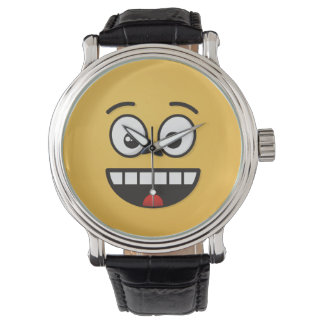 Smiling Face with Open Mouth Watch