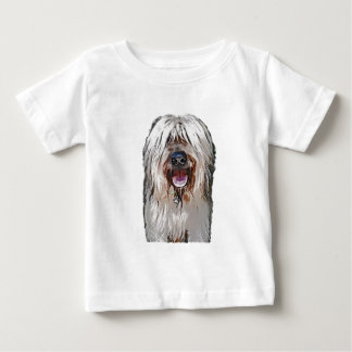 Smiling Fawn Briard Baby T-Shirt