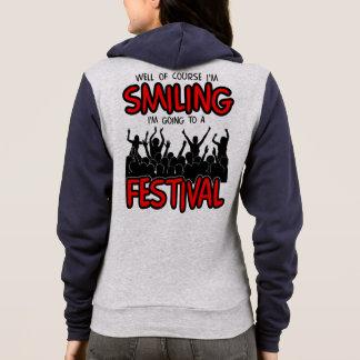 SMILING FESTIVAL (blk) Hoodie