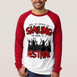 SMILING FESTIVAL (blk) T-Shirt