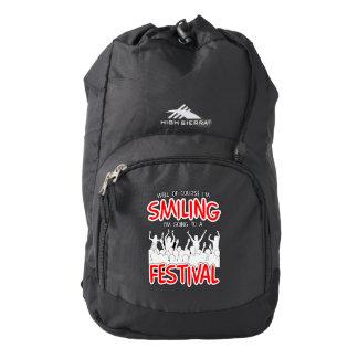 SMILING FESTIVAL (wht) Backpack