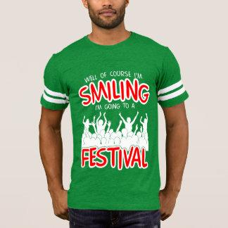 SMILING FESTIVAL (wht) T-Shirt
