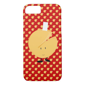 Smiling fortune cookie with fortune showing iPhone 7 case