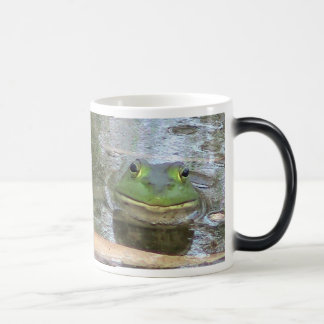 Smiling Frog Magic Mug