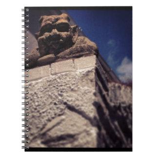 smiling gargoyle notebook