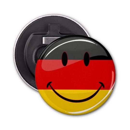 Smiling German Flag Bottle Opener