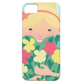 Smiling Girl iPhone 5 Cover