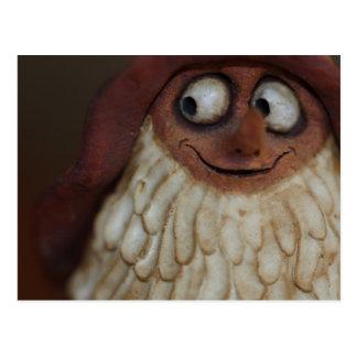 Smiling Gnome Postcard