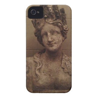 Smiling Goddess Stone Statue iPhone case