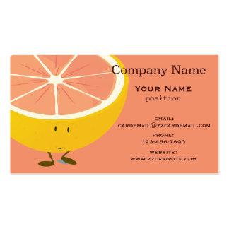 Smiling Grapefruit Business Card