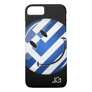 Smiling Greek Flag iPhone 8/7 Case