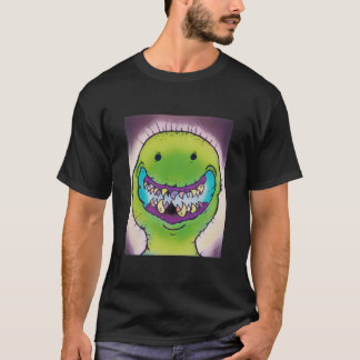 Smiling Green Monster T-Shirt