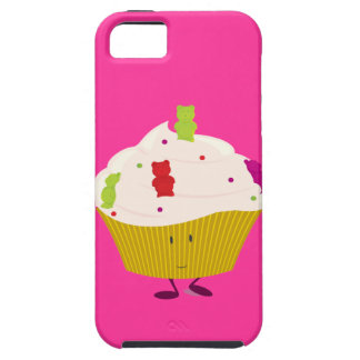 Smiling gummy bear cupcake iPhone 5/5S covers