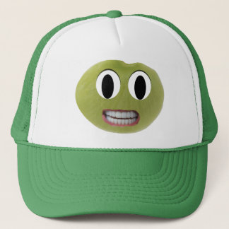 Smiling Happy Lima Bean Hat