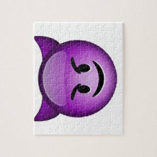 Smiling Imp - Emoji Jigsaw Puzzle