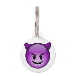Smiling Imp - Emoji Pet Tag