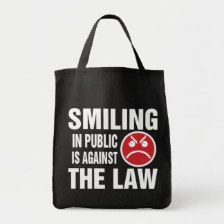 Smiling in Public is Against the Law