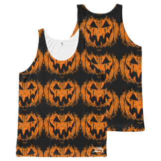 Smiling Jack'O All-Over-Print Tank Top