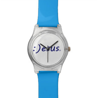 Smiling Jesus Wrist Watch