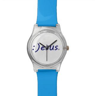 Smiling Jesus Wrist Watch