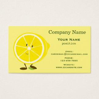 Smiling Lemon Business Card