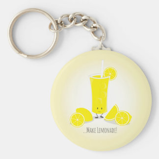 Smiling Lemonade Glass | Keychain