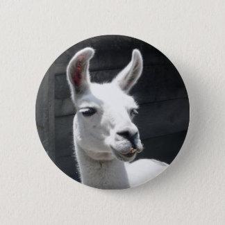 Smiling Llama Button