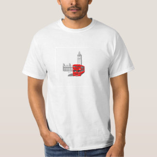 Smiling London Bus T-shirts