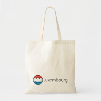 Smiling Luxembourg Flag