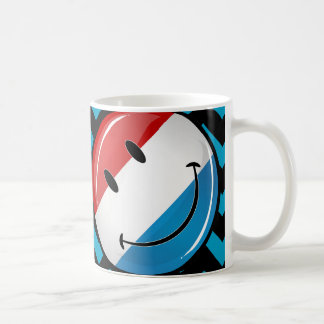Smiling Luxembourg Flag Coffee Mug