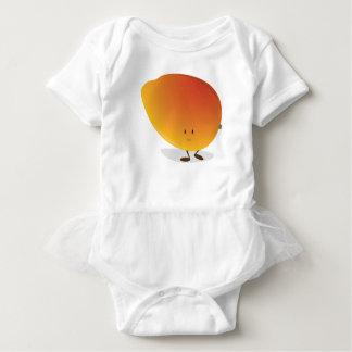 Smiling Mango Character Baby Bodysuit