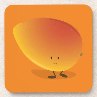 Smiling Mango Character Coasters