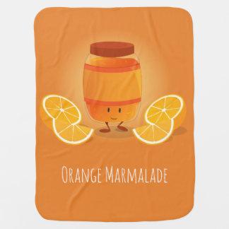 Smiling Marmalade Jam | Baby Blanket