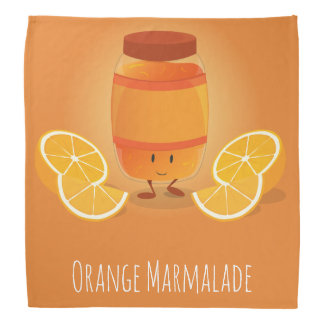Smiling Marmalade Jam   Bandana