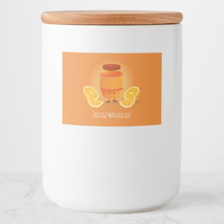 Smiling Marmalade Jam | Food Label