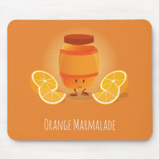 Smiling Marmalade Jam | Mousepad