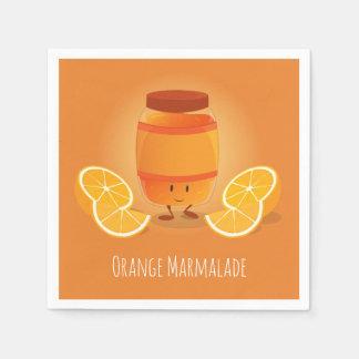 Smiling Marmalade Jam | Paper Napkin
