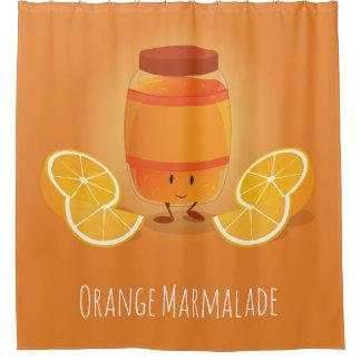 Smiling Marmalade Jam | Shower Curtain