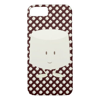 Smiling marshmallow iPhone 7 case