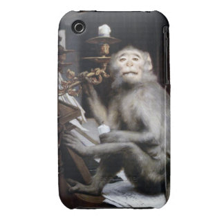 Smiling Monkey Case-Mate iPhone 3 Cases