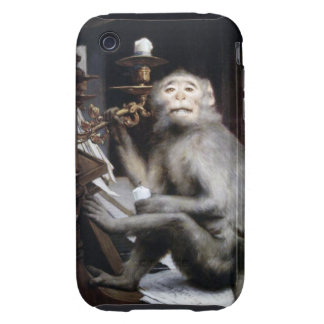 Smiling Monkey Tough iPhone 3 Cases