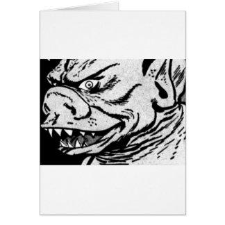 Smiling Monster Card